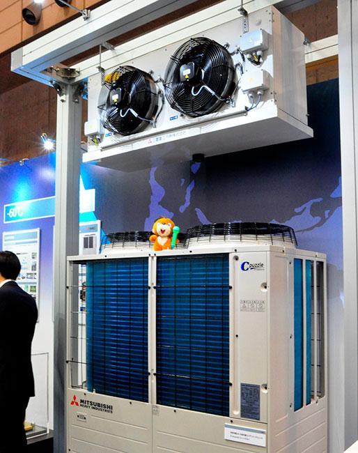 CO2冷媒 冷凍冷蔵コンデンシングユニット「C-puzzle HCCV1001シリーズ」